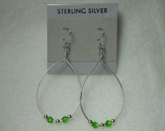 Swarowski beaded Earrings