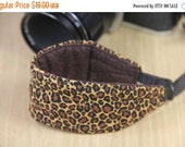CLEARANCE SALE Camera Wrist Strap for DSLR - Quick Release - Leopard - Ready to Ship