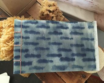 Small Landscape Handmade Journal Japanese Stitch