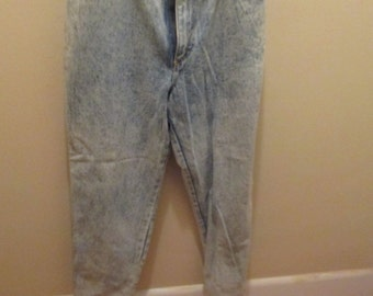 Vintage GITANO Jeans Acid Washed Blue Size 16 Regular Never Worn!!!