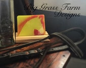 Handmade Fused Glass Tile - Horse Silhouette (Equestrian)