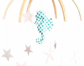 Seahorse Nursery Mobile (custom)