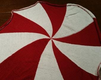 Umbrella Corps or peppermint circular blanket