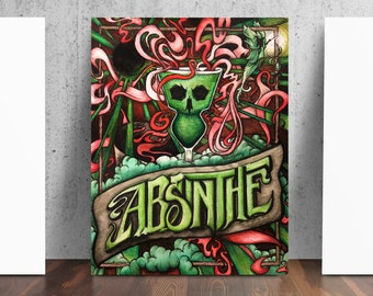suicide girls how to drink absinth