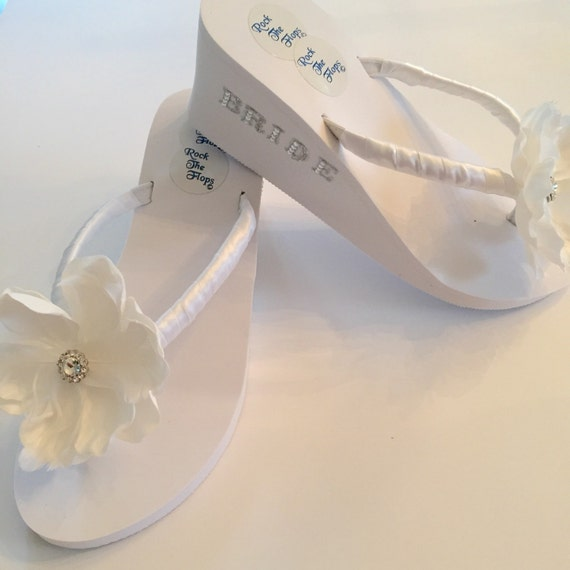 flops wedding flip flop sandals ivory ribbon wedding shoes beach