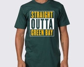 Straight Outta Green Bay Packers T-Shirt ( Green Bay Packers Shirt, Green Bay Tailgate Shirt, Packers, Aaron Rodgers, Clay Matthews Tee )