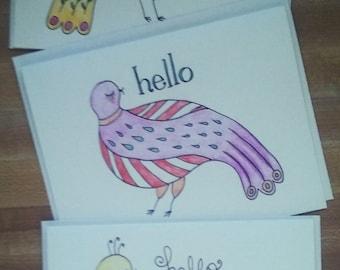 dreamy bird cards