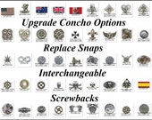 Replace Snaps with Conchos Utility Kilt Upgrade