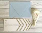 Bridesmaid Gift Card Gold Balloons in your choice of color