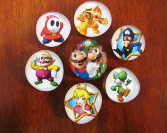 SUPER MARIO BROS Magnets