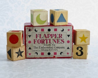 Antique Fortune Telling Game  /  Fortune Teller Divination Parlor Game   /  Vintage Halloween Tarot Game