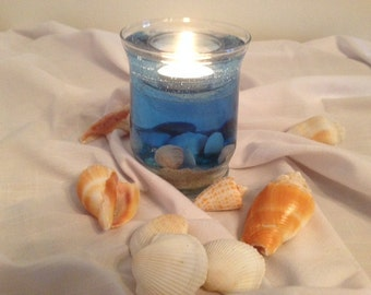 Seaside Gel Forever Candle Indian Rocks Beach Florida Gulf of Mexico