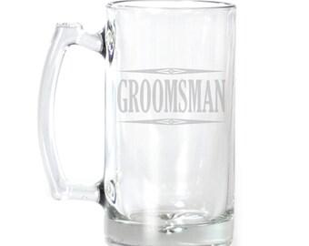 Large Beer Mug - 25 oz. - 2129 Groomsman