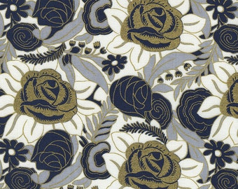 Puttin on the Ritz in Smoke - C4503  - CHARLESTON by Revive - Timeless Treasures Fabric - By the Yard