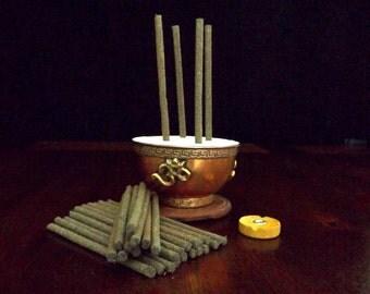 Tibetan Healing Incense - HIMALAYAN SPICE, stickless incense, healing incense, traditional incense, herbal incense