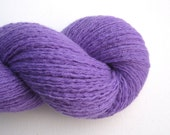 Sport Weight Cashmere Recycled Yarn, Amethyst Purple, 320 Yards, Lot 050516