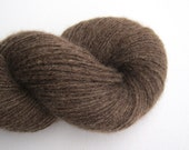 Reclaimed Cashmere Yarn, Light Fingering Weight, Acorn Brown, 510 Yards, Lot 060616