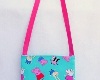 Peppa Pig Kids Crossbody Bag // Peppa Pig Purse