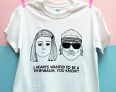 Tenenbaum T-Shirt | White | Unisex Taglia L