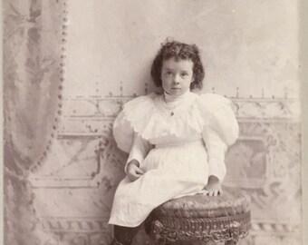 Helen - Cabinet Card photo