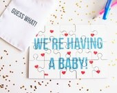 Baby Announcement Jigsaw Puzzle