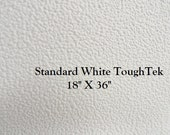 Non Slip Fabric - ToughTek - Neoprene - Waterproof - Standard White ToughTek - Grip Fabric - 18 X 36