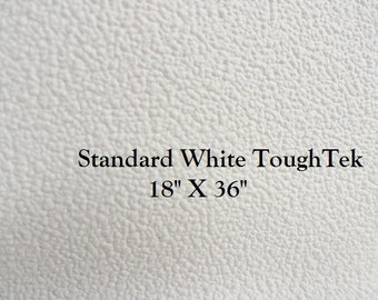 Non Slip Fabric - ToughTek - Neoprene - Waterproof - Standard White ToughTek - Grip Fabric - 18 X 36