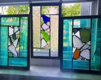 Small Sea Glass Windows.