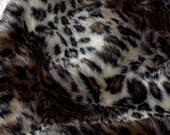 Lush Ocelot  Faux Fur          Brand New Furs ! ! !