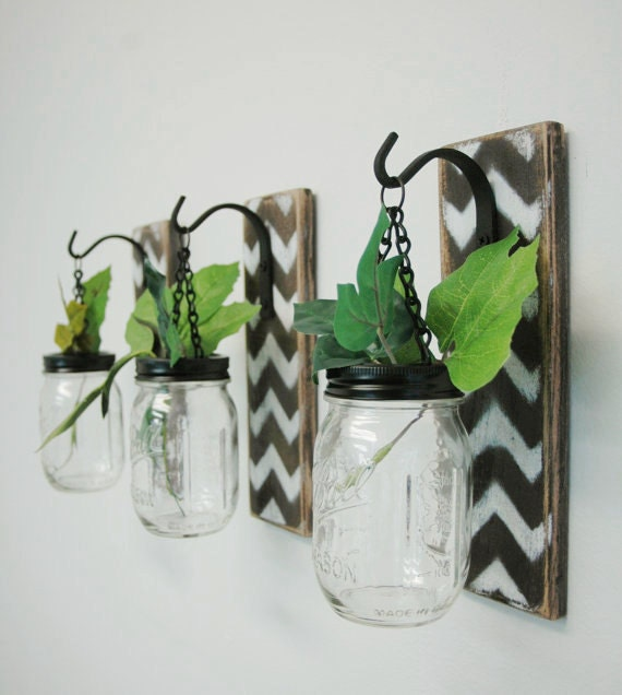 Wall Decor Hanging Jar Christmas Gift Gift For Mom Farmhouse Decor