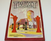 Twixt Bookshelf Game Vintage Space Age Retro Family Fun Avalon Hill 3M - 1962