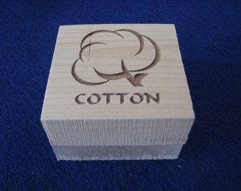 Cotton Soap Stamp