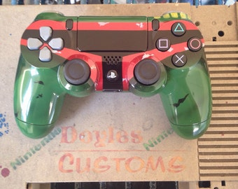 Boba fett themed playstation 4 controller