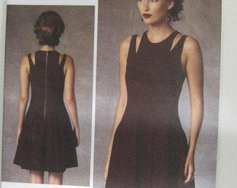 VOGUE Designer Dress Pattern, Rebecca Taylor Dress Pattern, VOGUE 1424 Dress Pattern, Resort Wear, Party Dress Pattern, SZ 6 through 14
