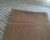 Raw Silk Scarf; Handmade, Available in Grey/Sand