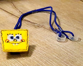 Silly Square - Hearing Aid Cord or Cochlear Implant Cord