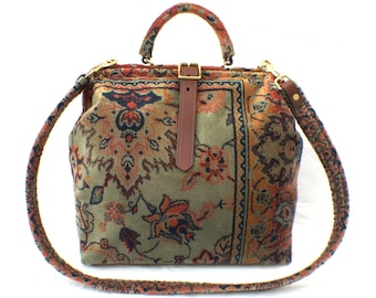 Carpet Bag 'Green Agra'