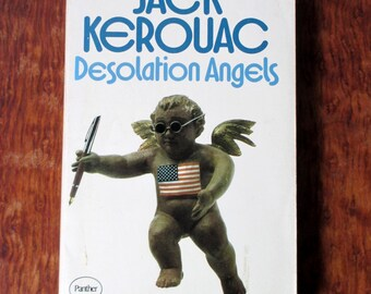 Vintage Paperback Book Desolation Angels Jack Kerouak 1972