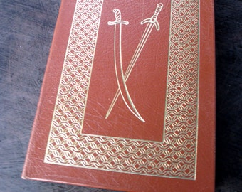 "Easton Press, Sir Walter Scott ""The Talisman"" Leather Bound Book Collector's Edition"