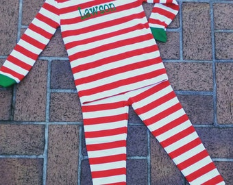 SALE - 2015 Monogrammed Kids' Christmas Pajamas