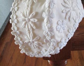 Vintage Bridal Cap/Wedding Headpiece - 1970's