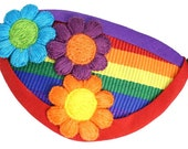 Eye Patch Rainbow Garden Fashion Pirate Fantasy Cosplay Bright Pride