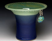 Lime Green and Royal Blue Earring Holder