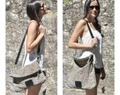Leather tote bag leopard crossbody bag casual bag everyday bag leopard print leather bag with adjustable strap and zipper closure
