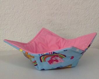 Potholder Bowl - My Little Pony Theme  (0234)
