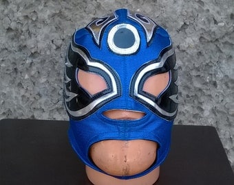 Angel Azteca Wrestling mask Mardi Gras day of the dead halloween party masks Horror movie masquerade Mexican traditional mask luchador mask