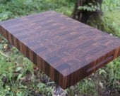 Walnut Cutting Board End Grain Personalize Butcher Block FREE USA SHIPPING Handcrafted by JonesCuttingBoards