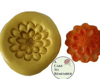 Silicone Flower Mold for cake decorating, chocolate, hard candy, polymer clay, resin, wax, soap, silicone mould M045