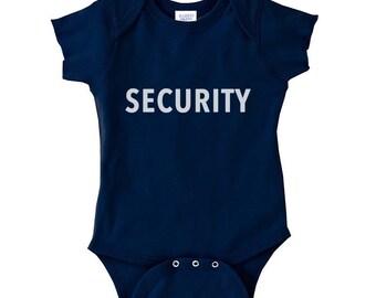 Baby SECURITY OnePiece Infant Bodysuit Creeper Crawler
