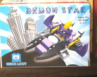 Demon Star Brick Loot/Building Bricks Kit/Spaceship